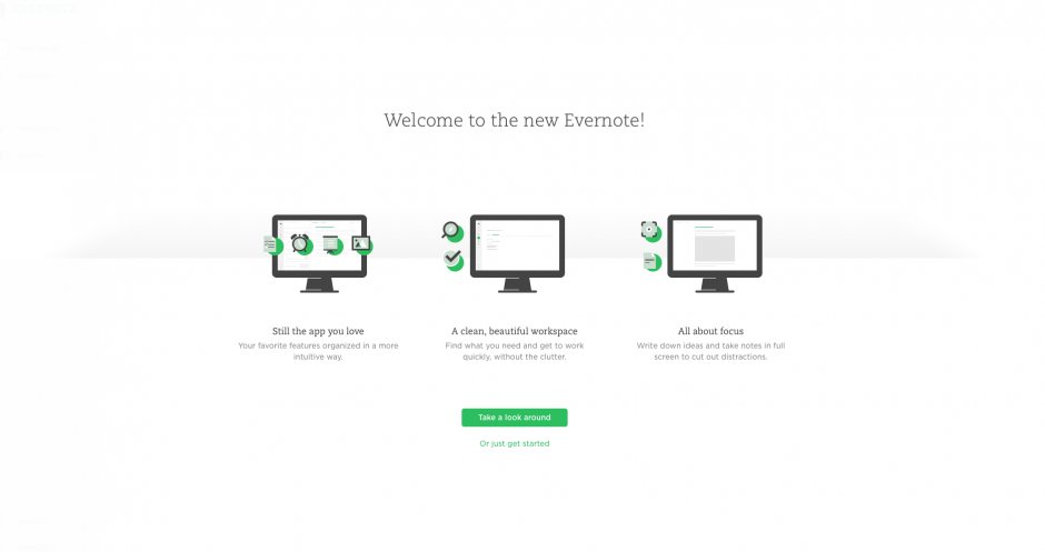 Evernote soft-release: try it in beta