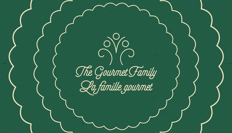 Gourmet Family Business Card Design